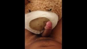 Teddy Bear Plushie Blowjob Cumshot