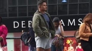Guys in Manchester Love to Play with Thier Cocks in Public