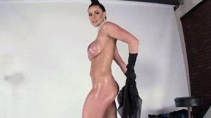 Kendra Lust Suck & Rides a Hard Fat Cock with her round Juicy Oiled Ass