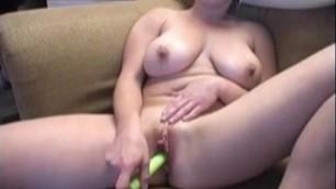 Busty Amateur Gabriella Sucking Cock after Hot Striptease