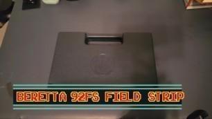 BERETTA 92 FS FIELD STRIP