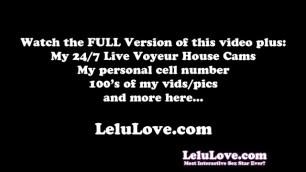 Lelu Love-Eat this Cheerleader Pussy